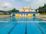 Open swimming pool of Aquatic junior olympic training center