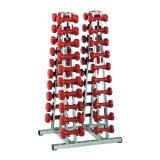 Double chrome rack 2291