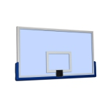 Acrylic glass basketball backboard S04206