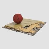 Sports parquet floor Sondrio