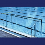 "Water Polo Goal ""Fold-Ex"" wall mounted"