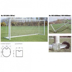 Junior soccer goals 119