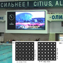 Video colour display modules NOVA V08-1 all-in-one SMD LED