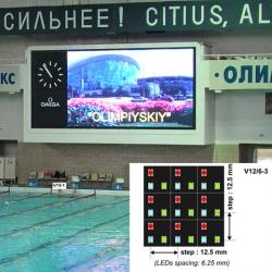 Video colour display modules NOVA V12/6-3 SMD LED