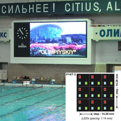 Video colour display modules NOVA V14/7-3 SMD LED