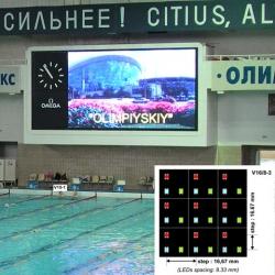 Video colour display modules NOVA V16/8-3 SMD LED