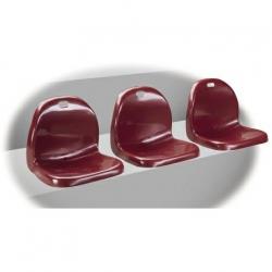 Polypropylene OMEGA seating for stadium and arena