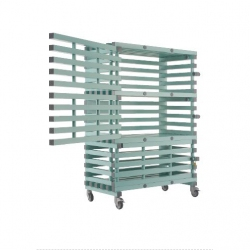 MATERIAL TROLLEY, LOCKABLE - ETX LOCK