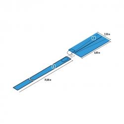 Vaulting table mat set