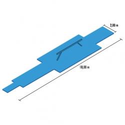 Balaceing beam mat set