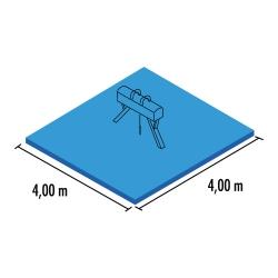 Pommel horse mat set