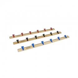 Wooden clothes hanger rail S07324