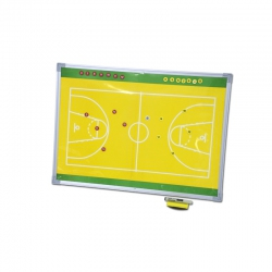 Magnetic tactic board for basketball S04286