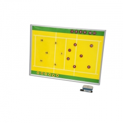 Magnetic tactic charts for volleyball S04820