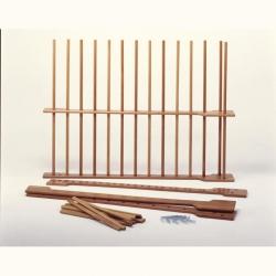 Swedish wooden wall bar S01106