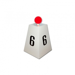 Lane marker box S02202
