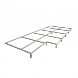 Platform for raising the high jump landing area S02584