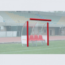 Corner protection pad for team shelter S04426