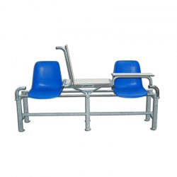 Seating element for soccer referees S04424