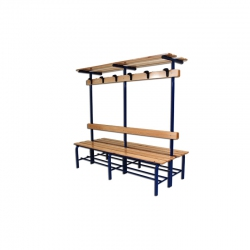 Complete locker room bench S07314