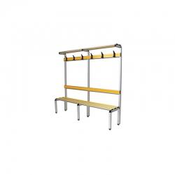 Complete locker room bench S07360