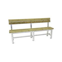 Bench for tennis court S04906