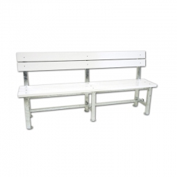 Bench for tennis court S04908