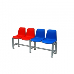 Bench for tennis court S04910