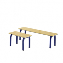 Bench suitable for wall bar S00902