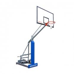 Easyplay College portable basketball backstops mobile S04124
