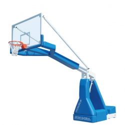 Hydroplay Fiba portable basketball backstops mobile S04102