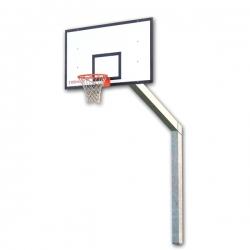 Monotubular streetball backstops S05102
