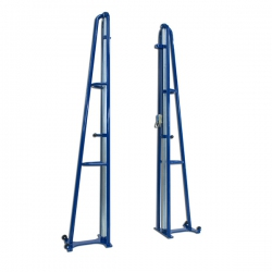 Freestanding portable volleyball system S04712