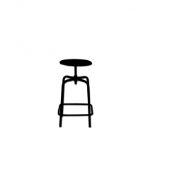 Turnable stool S07126