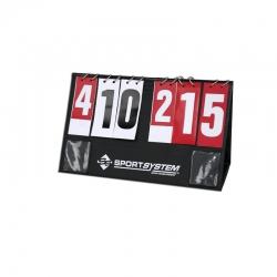 Portable desk manual scoreboard for basketball S04278