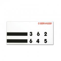 Manual scoreboard S04920