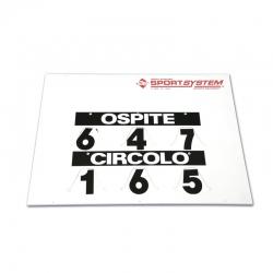 Manual scoreboard S04922