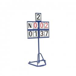 Mobile revolving field event scoreboard S02120