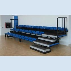 Telescopic grandstand for indoor use S07664