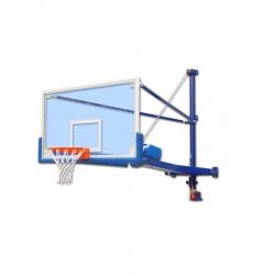 Wall mounted up folding basketball backstops S04068