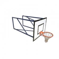 Wall mounted mini-basketball backstops S04152