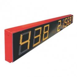 Modular scoreboards Gemini 9 digits