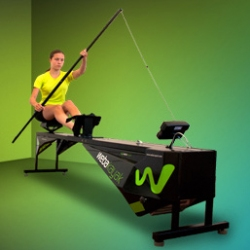 Simulator for rowers Kajak Ergometer