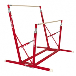 Freestanding training asymmetric bars