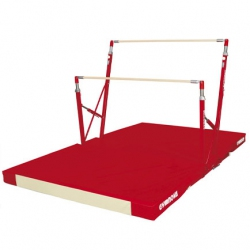 Freestanding training asymmetric bars