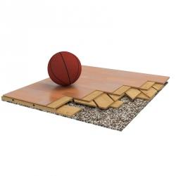 Sports parquet floor Berna