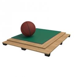 Sports parquet floor PVC