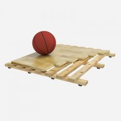 Sports parquet floor Spluga