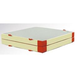 Folded mat
