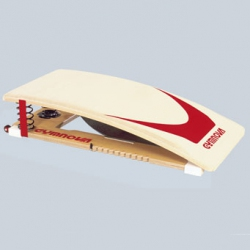 Adjustable elasticity springboard